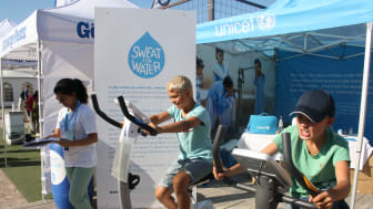 Sweat for water