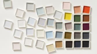 Årets farge 2020 - fargepalett