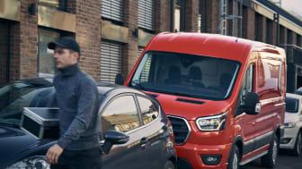 Ford Transit 2T parkeringsassistent 2020