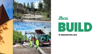 Det nye Leca-magasinet inneholder en rekke spennende prosjekter fra hele det europeiske bygg -og anleggsmarkedet.