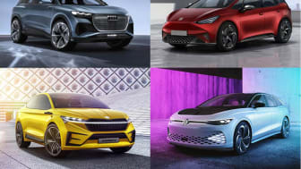 Volkswagen-koncernen vil de næste 10 år introducere op til 75 nye elbiler