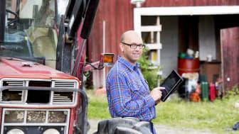Jordbruksverket rekommenderar att regeringen delfinansierar en satsning på en datainfrastruktur för jordbruket. Foto: Jörgen Wiklund/Scandinav bildbyrå.