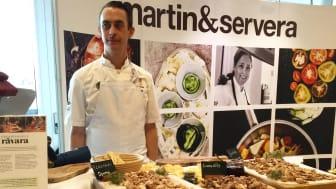 Martin & Servera för första gången som samarbetspartner till Årets Kock-finalen