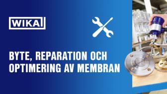 Tillsammans med WIKA kan vi hjälpa dig med byte, reparation och optimering av ditt membran, oavsett fabrikat på din enhet.
