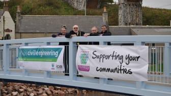 Ribbon cut on new Cullen footbridge
