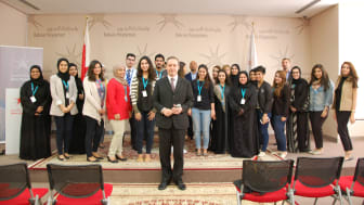 Presentation Skills training session with Mark Laudi at the Bahrain Polytechnic
