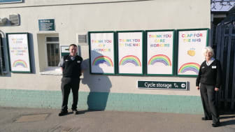 Barnham station rainbows