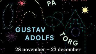 Julkänsla och vintermagi på Gustav Adolfs torg