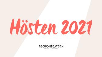 Presskonferens höstens utbud 2021 från Regionteatern Blekinge Kronoberg