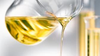 Rinnande olja