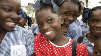 Två år efter jordbävningen: ljusare framtid för Haitis barn