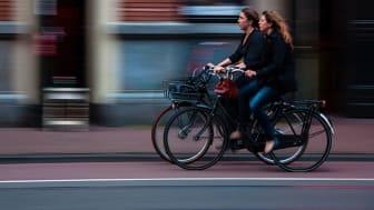 En forskningsstudie som genomförts i sju europeiska städer visar att aktiva transporter har stor betydelse för vår psykiska hälsa och hur friska vi känner oss. Allra flest hälsofördelar ger cykeln.