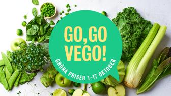 Under de två första veckorna i oktober kommer vi att lyfta vårt breda och goda vegosortiment i våra minibutiker. Syftet är att inspirera fler att välja vego oftare.
