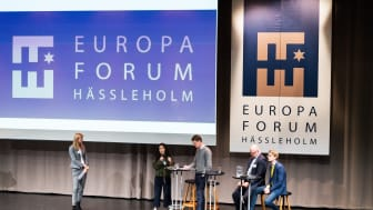 Panelsamtal under Europaforum Hässleholm 2019. Foto: fotografdaniel.se