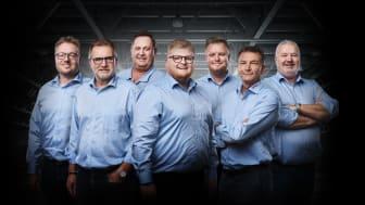 Med regionsdirektør Ejnar Andersen i spidsen, ønsker direktørerne for Region Fyn at signalere sammenhold og nærvær i mødet med kunderne