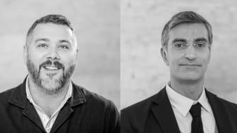 Michael Sundquist, CEO och Jonny Simonsson, CFO