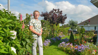 Elizabeth Boyd, Winner of the Best Kept Front Garden at this year's Mid and East Antrim In Bloom Community Competition