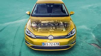 Næste generation af Golf får nye TSI og TDI mild-hybridmotor
