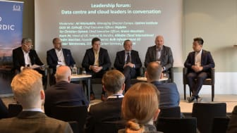 Leadership Panel at Datacloud Nordic 2019