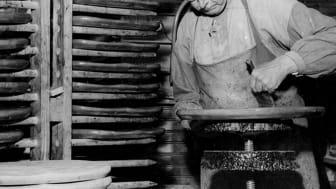 Hagafors stolfabrik betsate 1950.