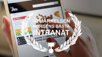 Diös Fastigheter har Nordens Bästa Intranät