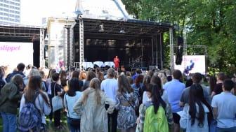 Claim your Studentslipp bracelet between 11-14 pm on August 19 at St. Olavsgate 32. (Photo: Lise Paulsrud Mjørlund / UiO)