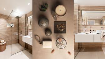 Kylpyhuone, jossa yhdistyy estetiikka ja toimivuus - Iconic by Desirée