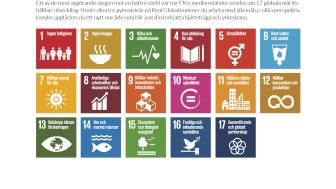 Real Global är Sveriges första gymnasieskola där utbildningen baseras på FN:s 17 Globala mål för hållbar utveckling.