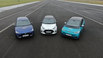 The SEAT Leon, Toyota Yaris and Volkswagen ID.3, along with the Honda Jazz and Mazda MX-30 are all in contention to be named 2020's safest car of the year