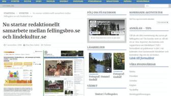 lindekultur.se i redaktionellt samarbete med fellingsbro.se