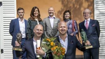 Jury och pristagare Årets företagare 2018