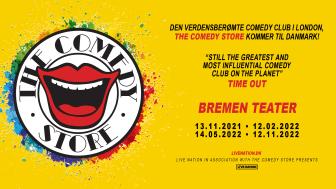 The Comedy Store til Danmark!