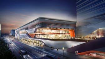 Die Fertigstellung der East Side Mall ist für Herbs t 2018 geplant (Copyright: Forum Invest S.a.r.l)