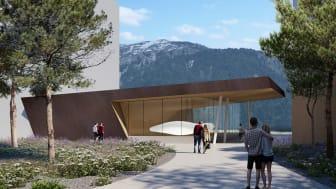 Die neue Konzerthalle in Andermatt