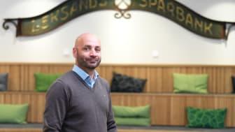 Jonas Heimer, ny marknadschef Leksands Sparbank