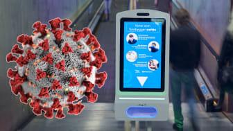 Procon DigiClean kombinerer digital info med håndrens