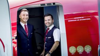 Norwegians kabinansatte ombord Boieng 737-800