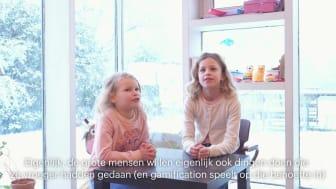 """""""Gamification"""" uitgelegd door de kinderen van Caroline Van Cauwelaert, CCO Bagaar"""