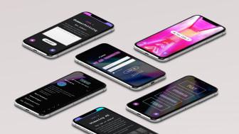 We are connected är ett digitalt spel som aktiverar Canons medarbetare våren 2021. Bild: Hello Studio