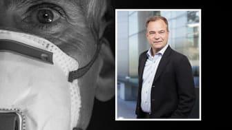 Securitas vd, Joachim Källsholm reflekterar över Coronapandemin som skakar omvärlden.