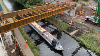 New bridge marks major step forward in redevelopment of University station in Birmingham