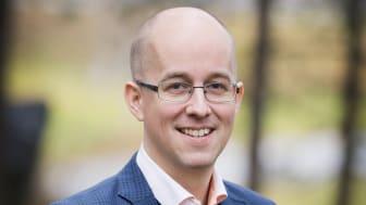 Markus Odevall, ny digitaliserings- och marknadsansvarig på Arctic Business.