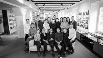 Alla superglada medarbetare på Utopia Arkitekter. Bild: Ulf Berglund