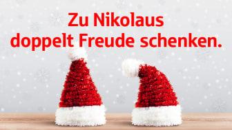 Zu Nikolaus doppelt spenden mit der Stadtsparkasse München!