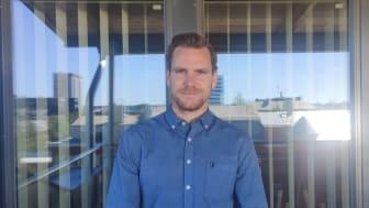Adrian Bergström, ny medarbetare på Zert