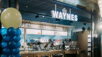 Waynes öppnar i Gallerian på Hamngatan i Stockholm