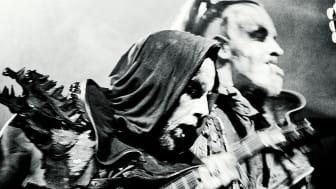 Behemoth från Polen är ett av de 14 band som Sweden Rock Festival presenterar idag.