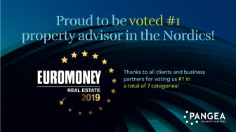 Pangea voted #1 Nordic advisor by Euromoney