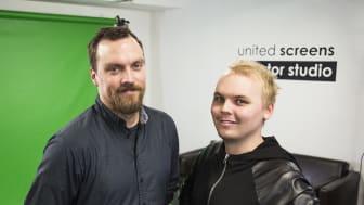 """United Screens öppnar den första """"Creator Studion"""" i Sverige och välkomnar alla kreatörer och innehållsskapare av online video"""