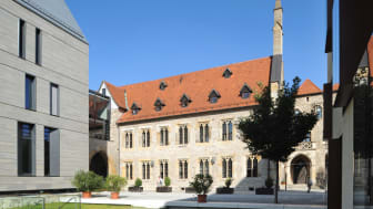 Augustinerkoster der Martin Luther bodde i Erfurt, Tyskland